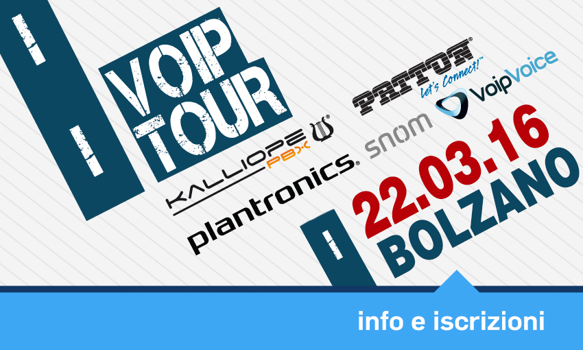 Banner VoIP Tour 2016